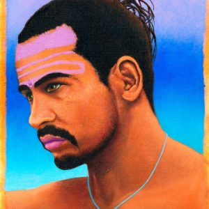 Babaji Unframed - Radiant Spirit Art