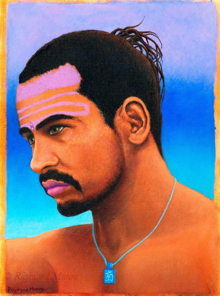 Babaji portrait unframed