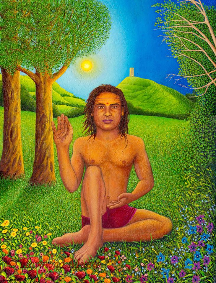 Babaji with tor unframed