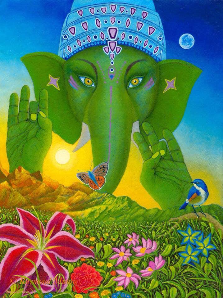 Ganesh Print